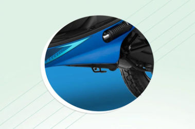 TVS Scooty Pep Plus Foot Rest View