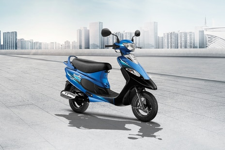 TVS Scooty Pep Plus Matte Series BS6