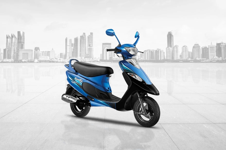 TVS Scooty Pep Plus Front Right View