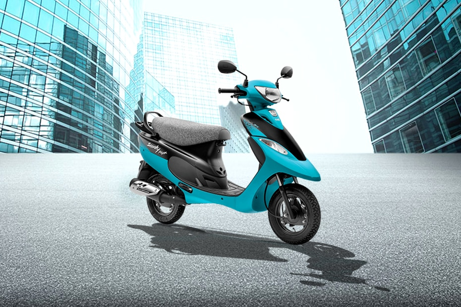 TVS Scooty Pep Plus Babelicious series BS6