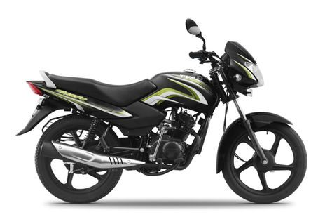 TVS Sport Electric Green