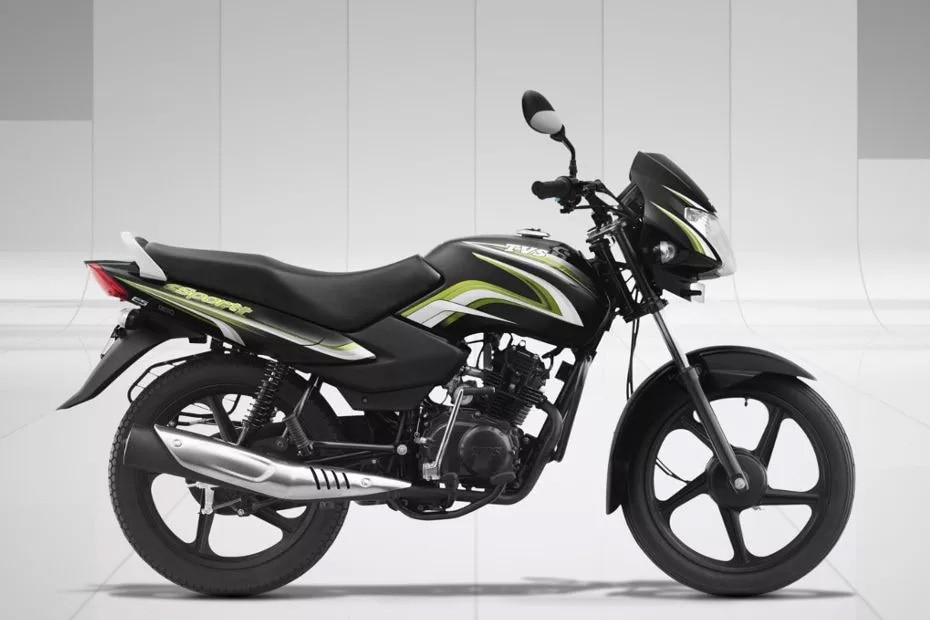 TVS Sport Right Side View