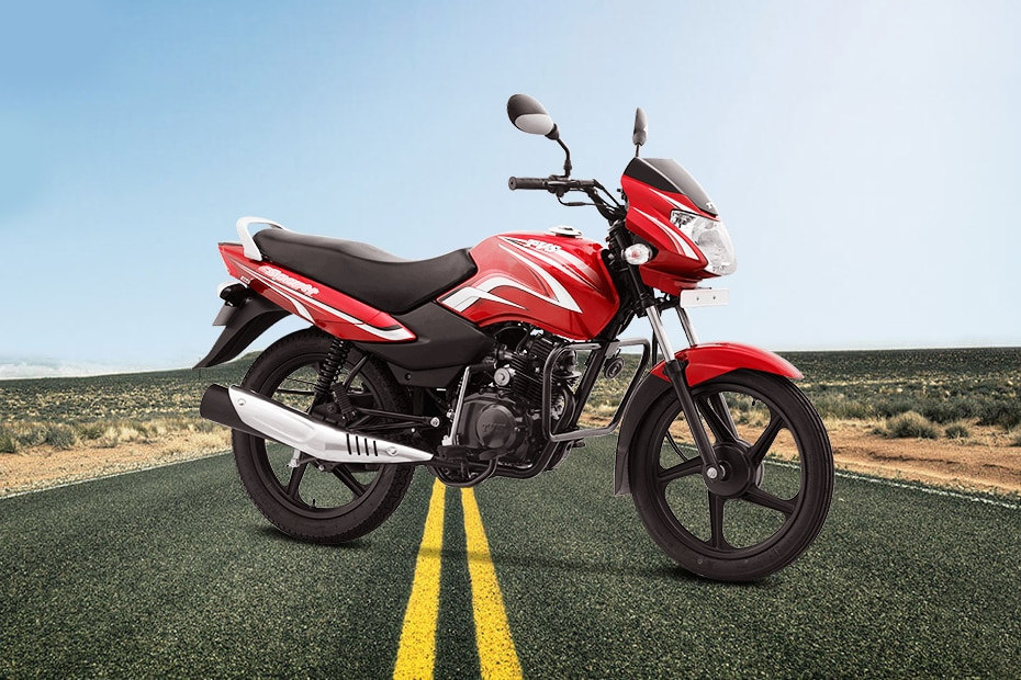 TVS Sport Kick Start Long Seat BS6