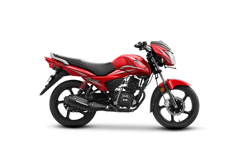 TVS Victor Loan Red Hot Model