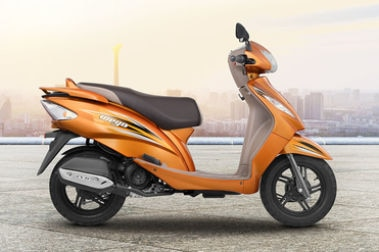 TVS Wego Right Side View