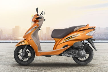 TVS Wego Left Side View