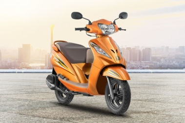 TVS Wego Front Right View