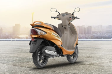 TVS Wego Rear Right View