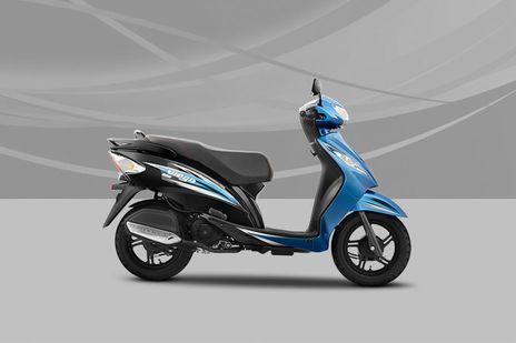 TVS Wego Dual tone blue