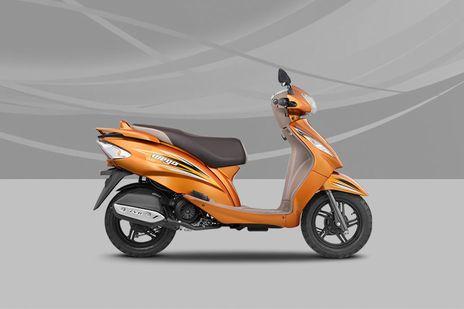 TVS Wego Metallic Orange