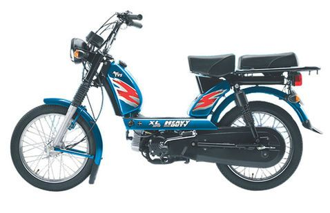 TVS XL Heavy Duty Blue