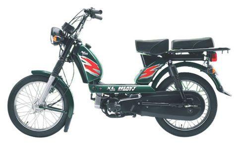 TVS XL Heavy Duty Green