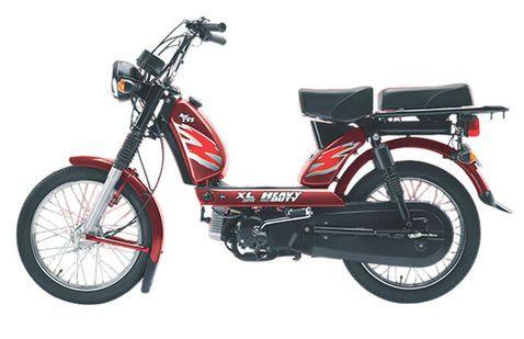 TVS XL Heavy Duty Red
