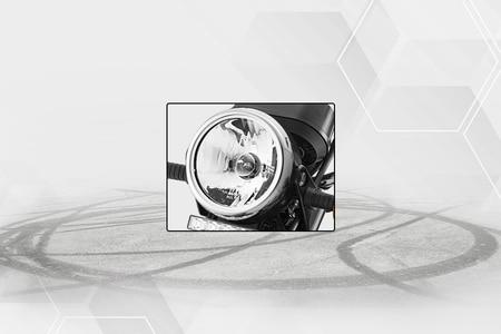 टीवीएस एक्सएल100 Head Light
