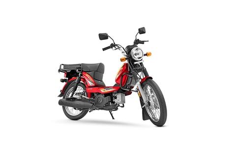TVS XL100 Red