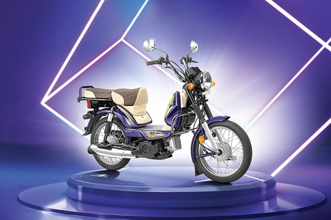 TVS XL100 Heavy Duty i Touch Start Winner Edition