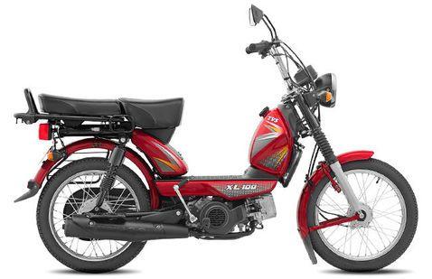 TVS XL 100 Red