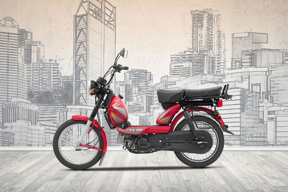 TVS XL100 Right Side View