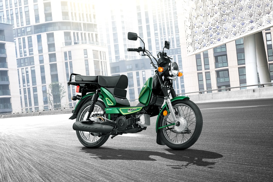 TVS XL100 Heavy Duty i Touch Start Special Edition BS6