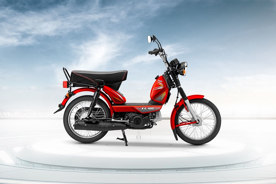 TVS XL100 Heavy Duty i Touch Start Special Edition