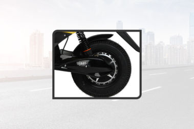 Ujaas eGO Rear Tyre View
