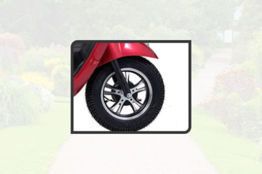 Ujaas eSpa Front Tyre View