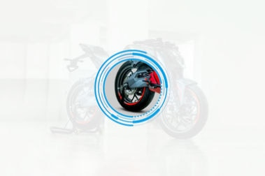 Ultraviolette F77 Rear Tyre View