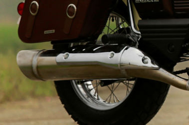 UM Renegade Commando Classic Exhaust View