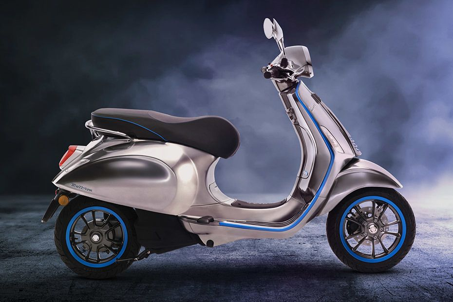 Vespa Elettrica Price In India  Launch Date  Specs  Mileage  Colours