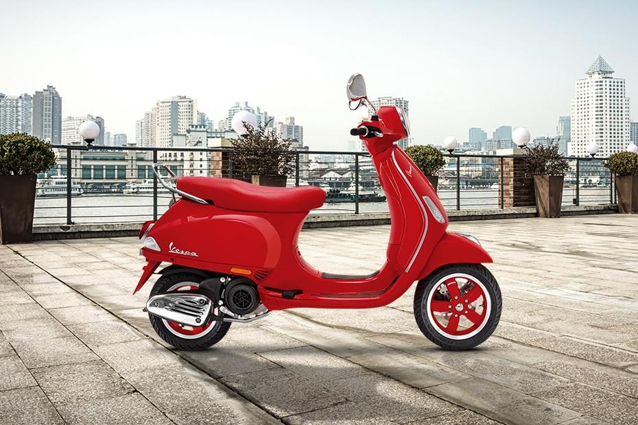 Vespa Red 125 Price Specs Mileage Reviews