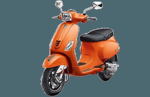Vespa SXL 125 Orange