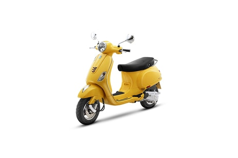 Vespa ZX 125 Yellow