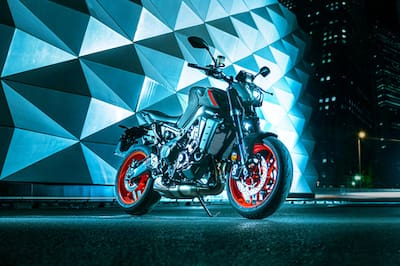2021 Yamaha MT-09 Right Side View