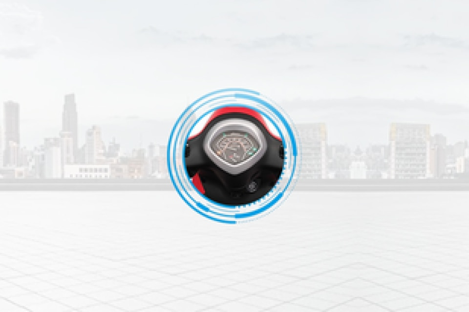 Yamaha Fascino 125 Speedometer
