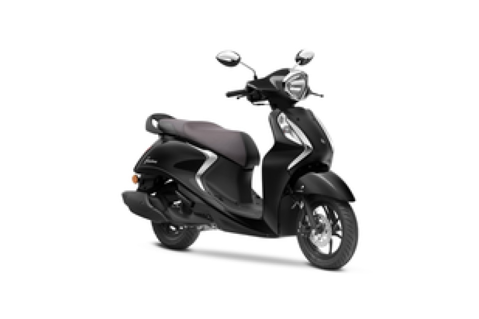 Yamaha Fascino 125 Black