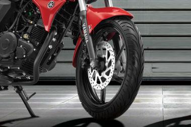 Yamaha FZ FI Front Tyre View