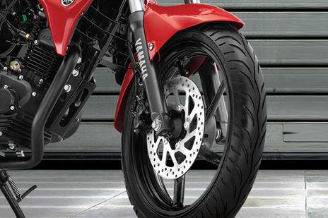 Yamaha FZ FI Front Brake View