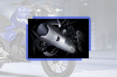 Yamaha FZ-Fi Version 3.0 Exhaust View