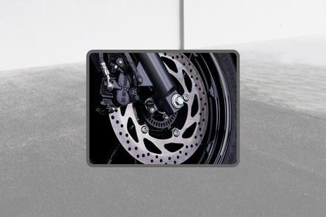 Yamaha FZ-FI V3 Front Brake View