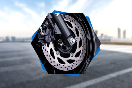 Yamaha FZ-S Fi Version 3.0 Front Brake View