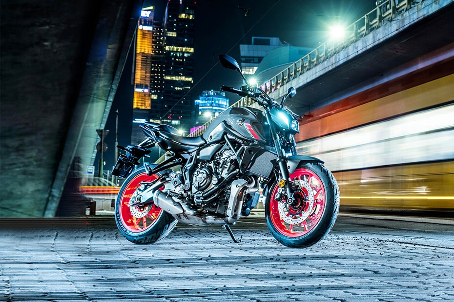 Yamaha MT-07 Right Side View