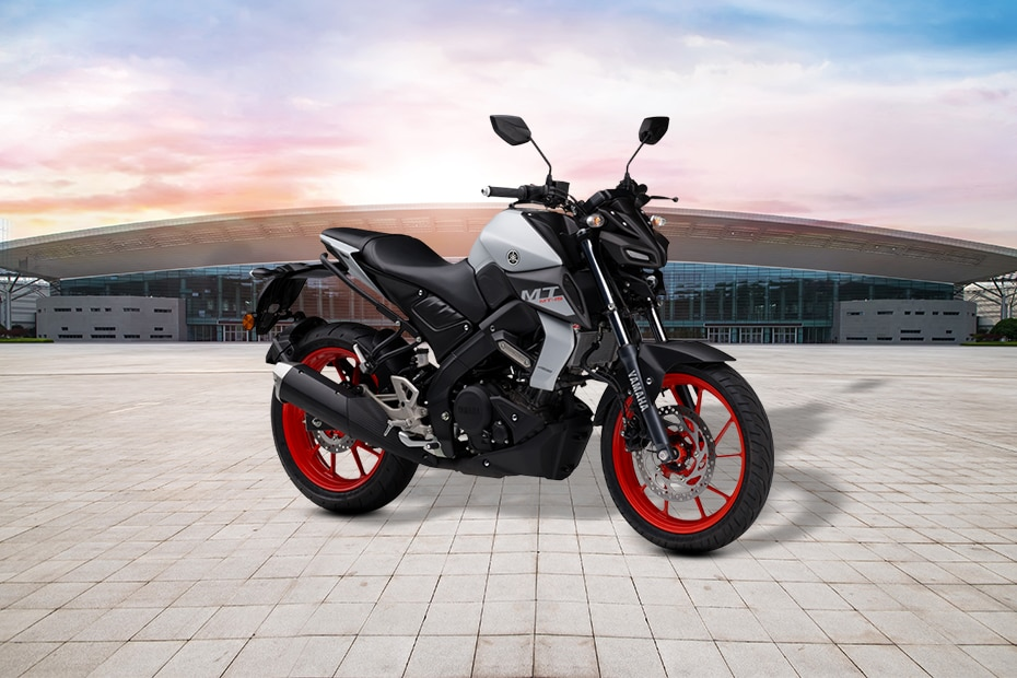 Yamaha MT-15 BS6 Left Side View