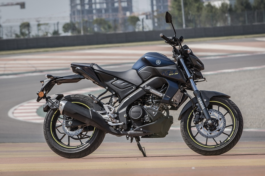 Yamaha MT-15 Right Side View