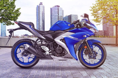 Yamaha YZF R3 Right Side View