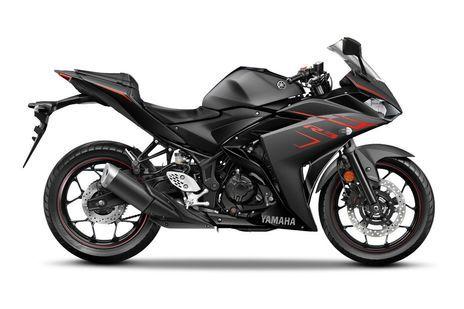 Yamaha YZF R3 2018 Magma Black