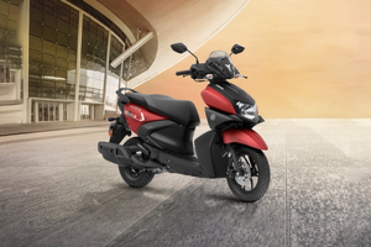 यामाहा RayZR 125 Front Right View