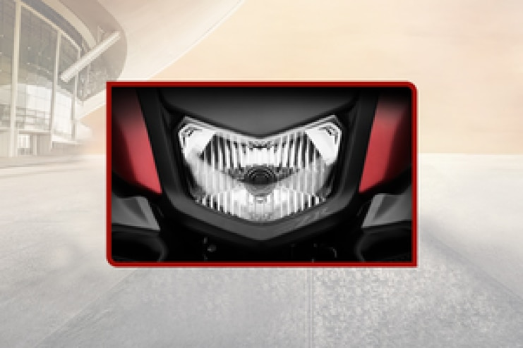 Yamaha RayZR 125 Head Light