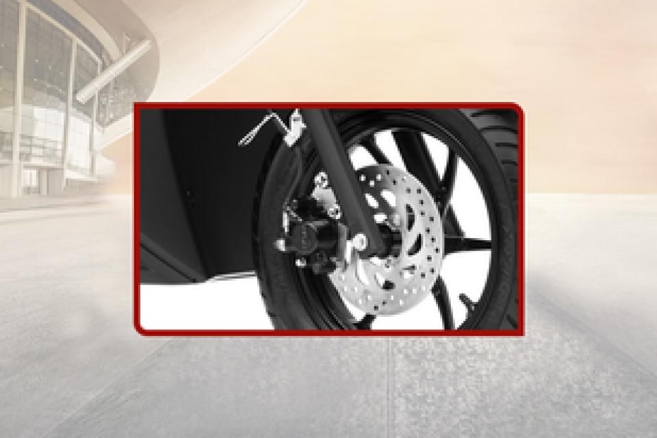 Yamaha RayZR 125 Front Brake View