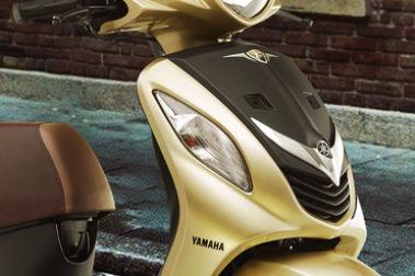 Yamaha Fascino Front Indicator View