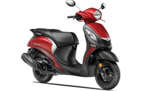 Yamaha Fascino Fusion Red